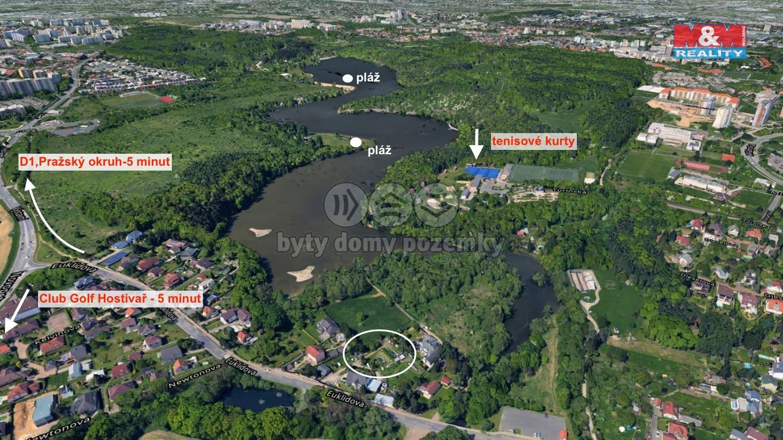Prodej, stavební pozemek, 700 m², Praha 10