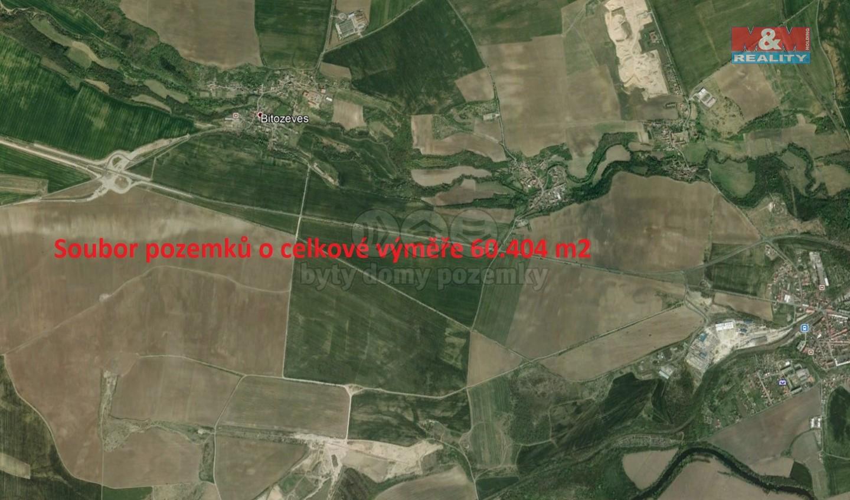 Prodej, pole, 60404 m2, Bitozeves