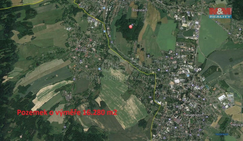 Prodej, pole, 16280 m2, Jiříkov