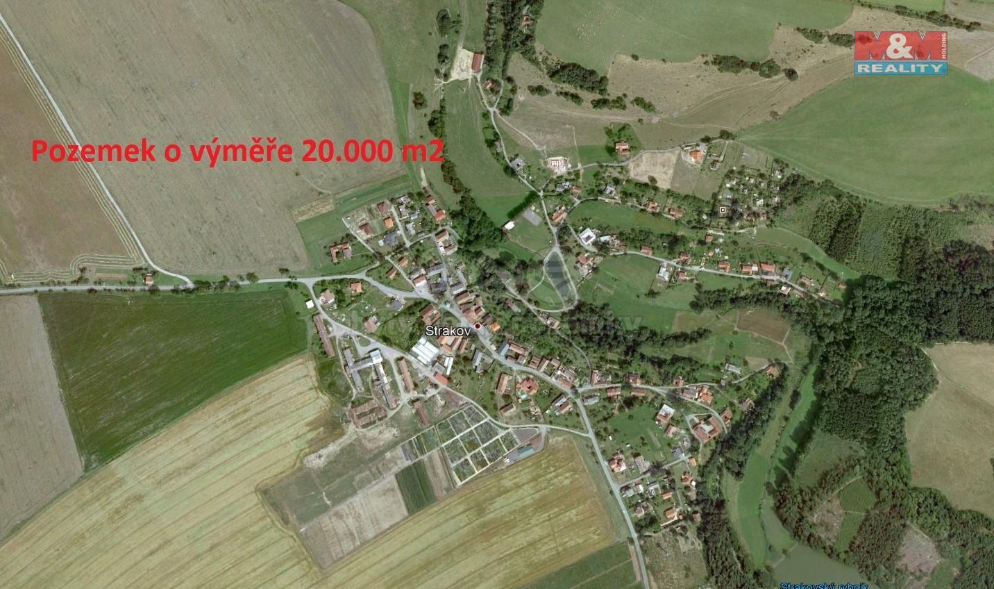 Prodej, pole, 20000 m2, Strakov