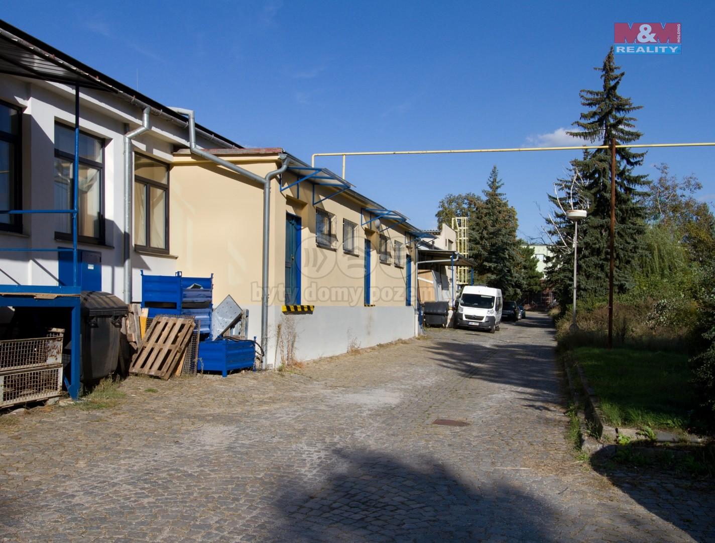 Pronájem, výrobní objekt, 398 m², Brno - Královo Pole