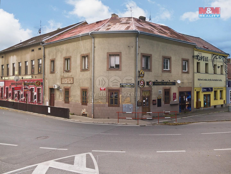 Prodej, nájemní dům, Příbram, ul. Březnická