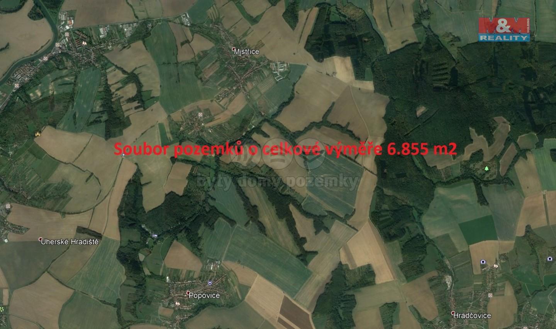Prodej, louka, 6855 m2, Mistřice I