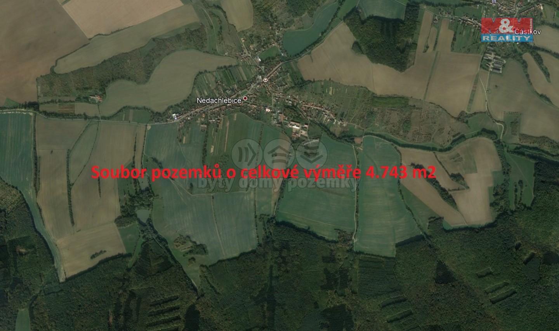 Prodej, pole, 4743 m2, Nedachlebice