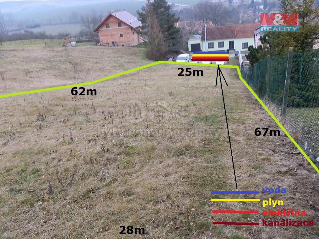 Prodej, stavební pozemek, 1703 m², Medlovice