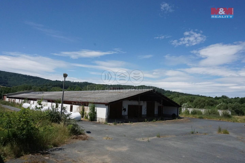 Prodej, zemědělský areál, 34777 m2, Milence