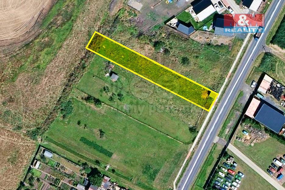 Prodej, pozemek, 957 m², Chomutov - Údlice