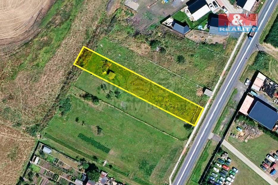 Prodej, pozemek, 976 m², Chomutov - Údlice