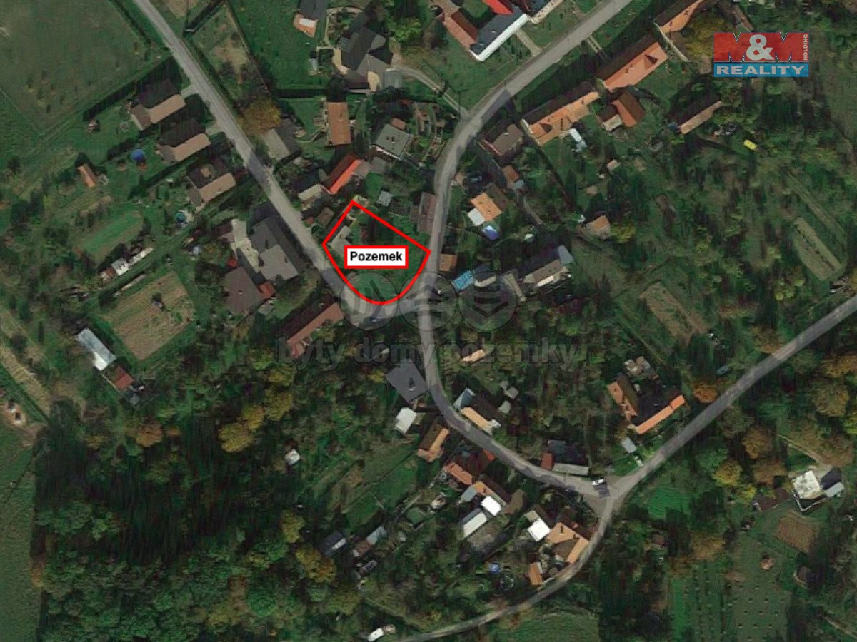 Prodej, pozemek k bydlení, 959 m², Zdounky