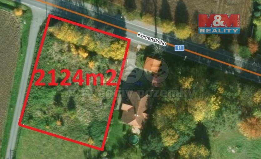 Prodej, zahrada, 2124 m2, Kostelec nad Orlicí