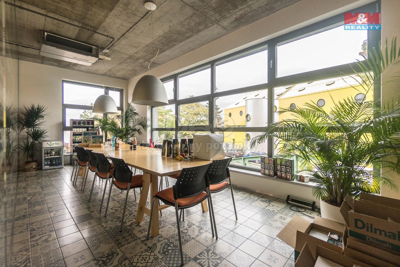 Pronájem, kancelářské prostory, 86 m2, Praha 5 - Smíchov