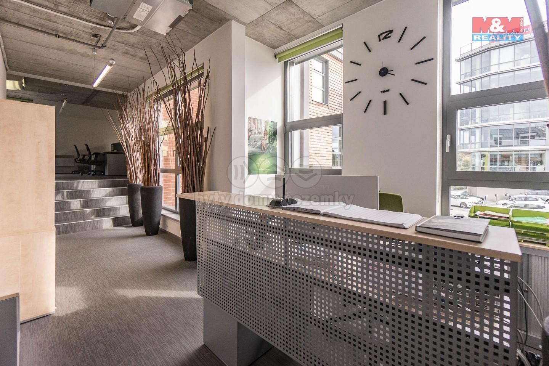Pronájem, kancelářské prostory, 139 m2, Praha 5 - Smíchov