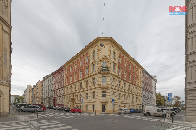 Pronájem, byt 2+kk, Praha 7, ul. U studánky