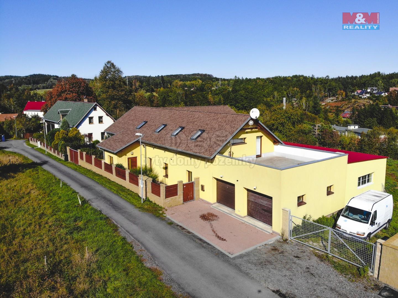 Prodej, rodinný dům, 2684 m², Stráž nad Nisou, Zlatý kopec