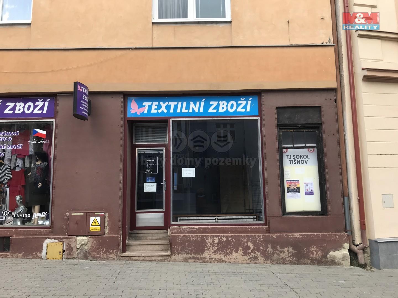 Pronájem, obchod a služby, 22 m², Tišnov, ul. Brněnská