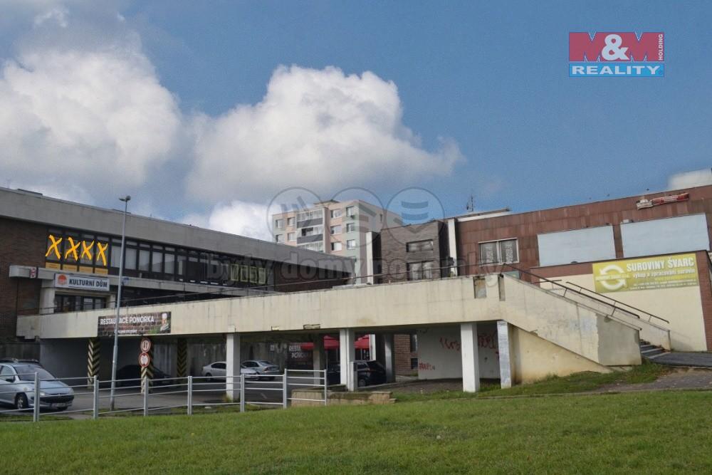 Pronájem, kancelářské prostory, 39 m2, Most, ul. Lipová
