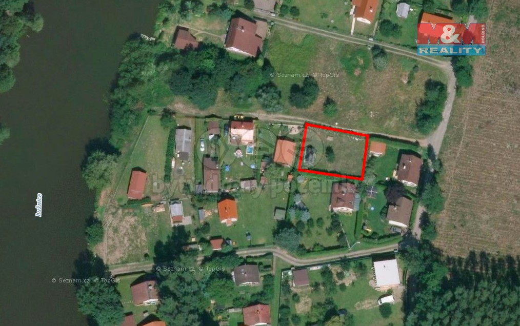 Prodej, zahrada, 400 m², Sezimovo Ústí