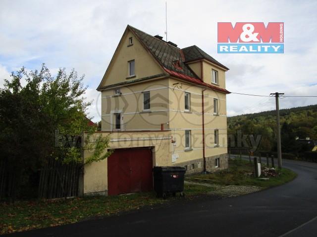 Prodej, nájemní dům, 184 m2, Aš, ul. Purkyňova