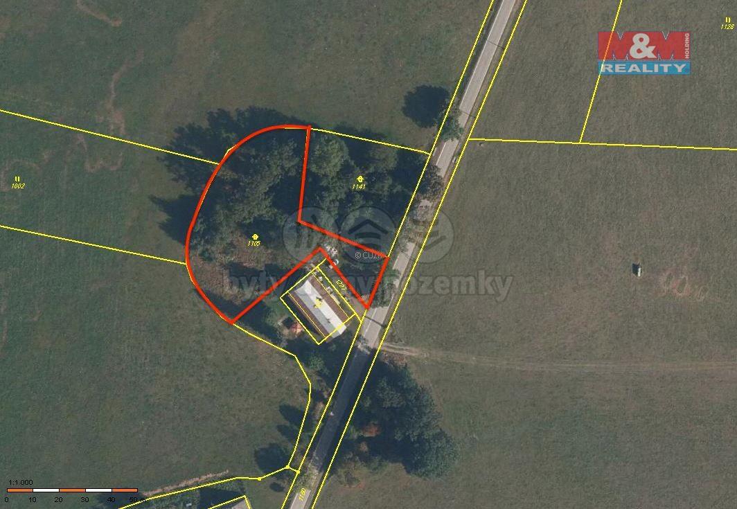 Prodej, pozemek k bydlení, 2700 m², Dolní Lipka - Králíky
