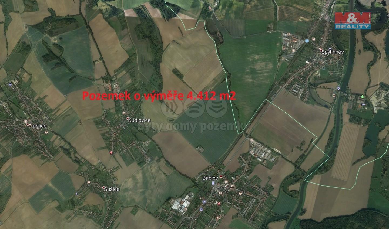 Prodej, pole, 4412 m2, Babice u Uherského Hradiště