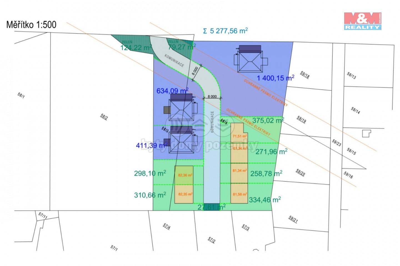 Prodej, stavební pozemek, 5320 m2, Plzeň - Božkov