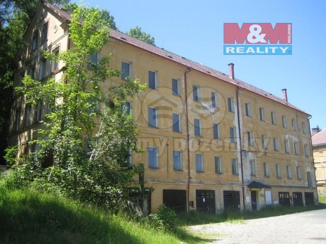Prodej, bytový dům, 1440 m2, Aš, ul. Saská
