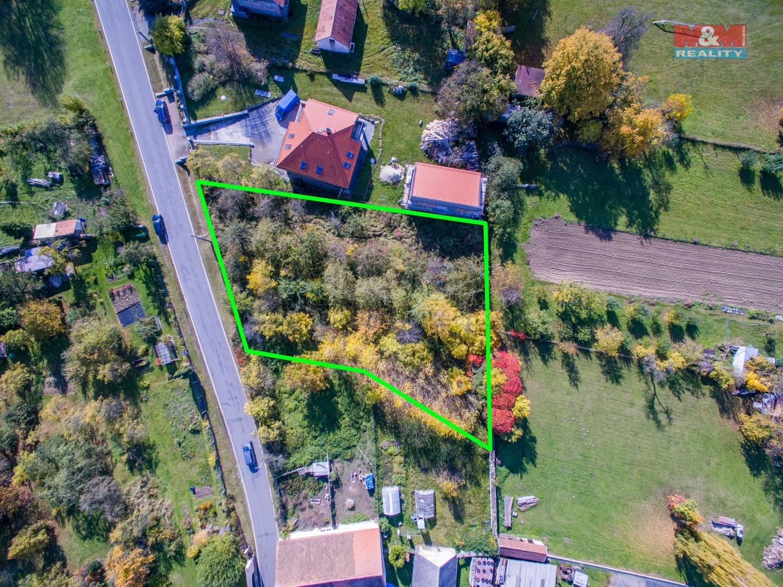 Prodej, stavební parcela, 1371m2, Čepřovice