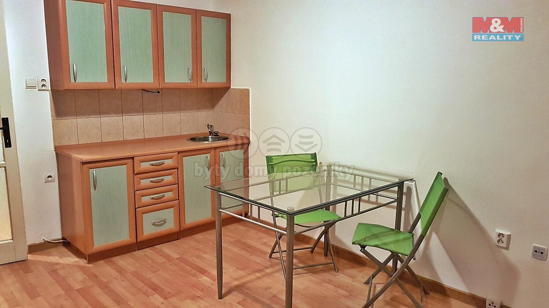 Pronájem, byt 1+kk, 28 m², Ostrava, ul. Krakovská