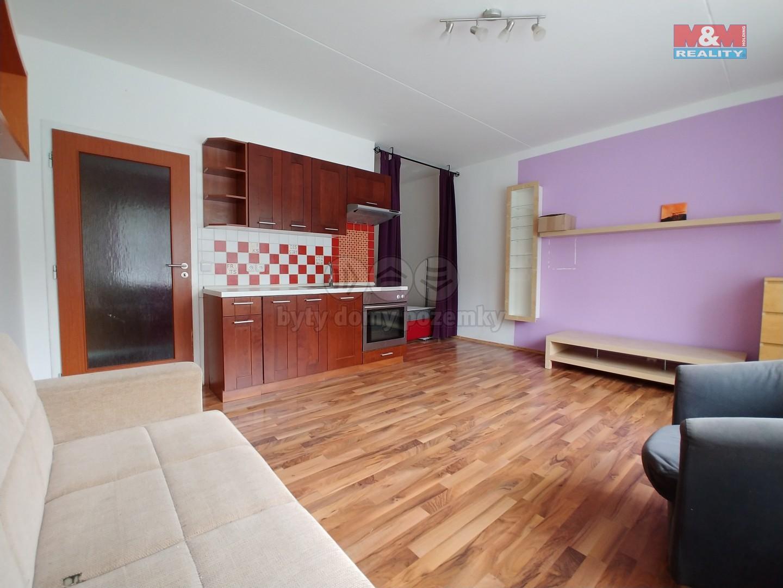 Pronájem, byt 1+kk, 32 m2, Brno, ul. Krymská