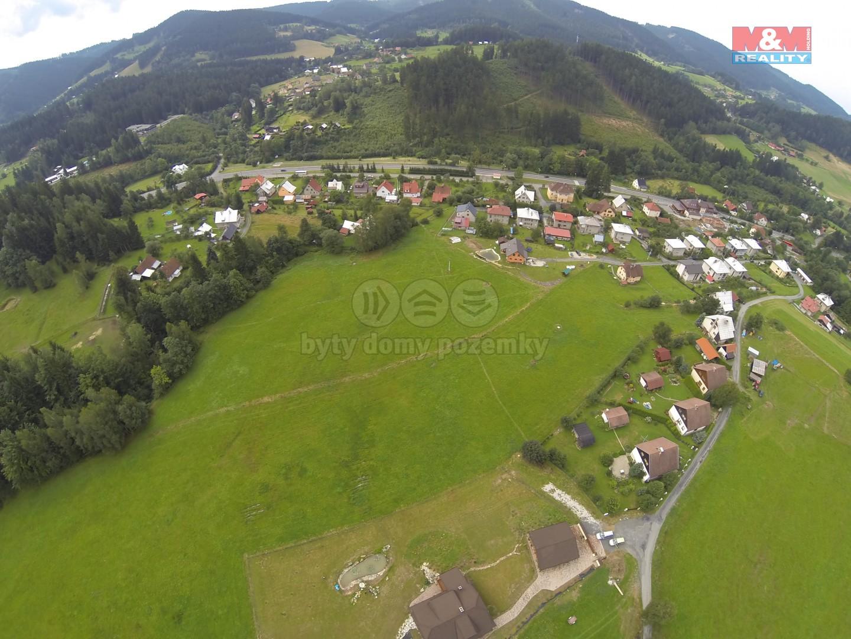 Prodej, pozemek, 3400 m2, Horní Bečva