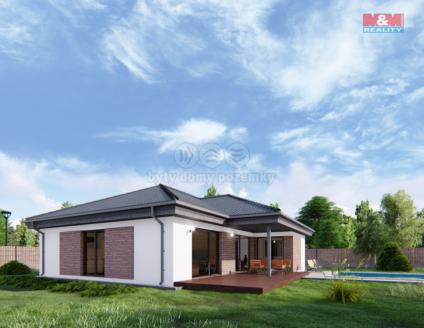 Prodej, rodinný dům 4+kk, 114 m2, pozemek 1247 m2, Libštát