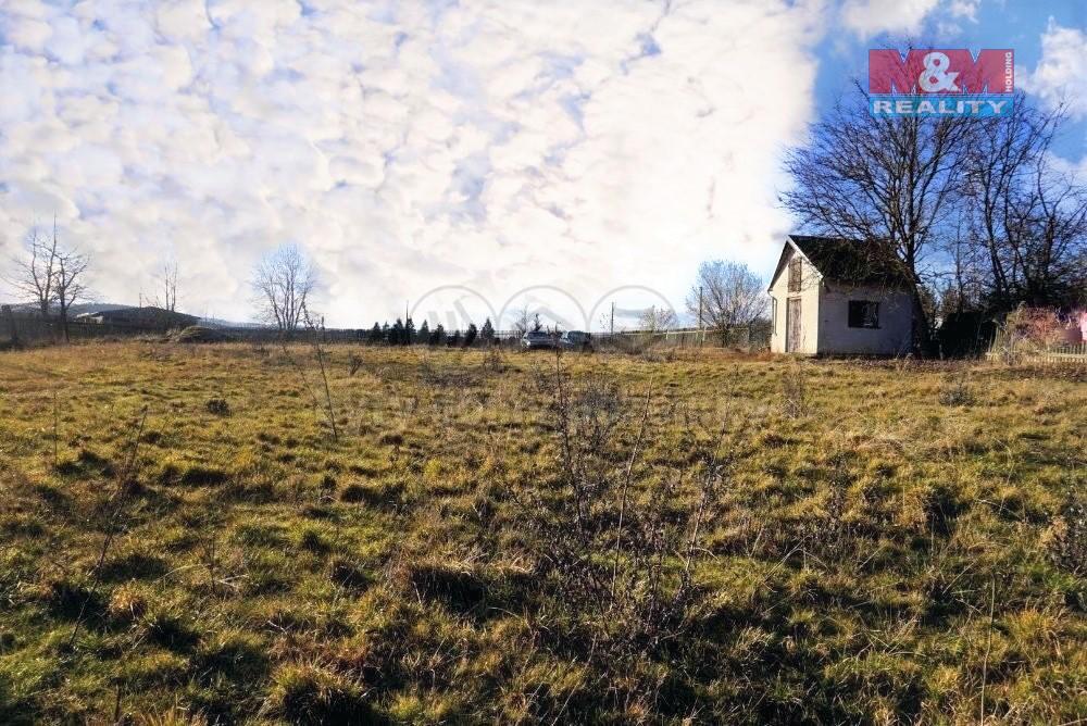 Prodej, pozemek k bydlení, 1619 m2, Březí u Meclova