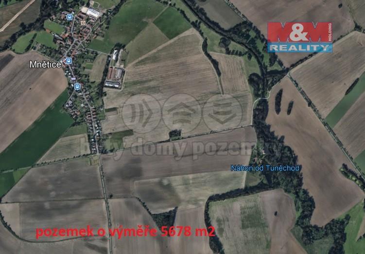 Prodej, pole, 5678 m², Mnětice