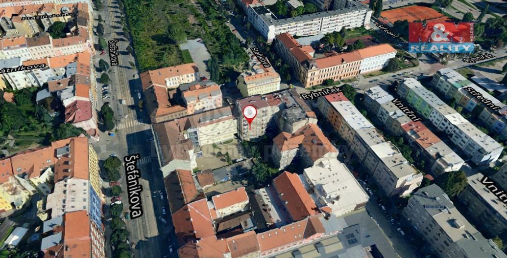 Pronájem, byt 3+1, 90 m², Brno, ul. Rybníček