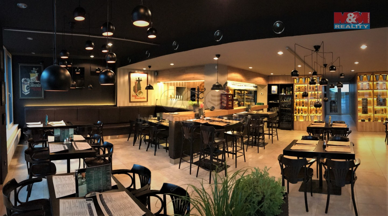 Pronájem, restaurace, 218 m2, Brno, ul. Fryčajova