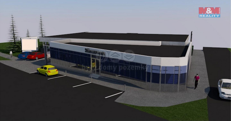 Prodej, stavební pozemek, 533 m², Příbram, ul. Seifertova