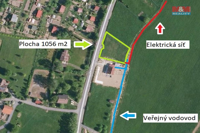 Prodej, pozemek k bydlení, 1056 m², Rožnov pod Radhoštěm