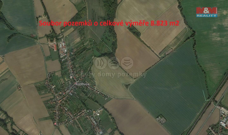 Prodej, pole, 8823 m2, Kudlovice