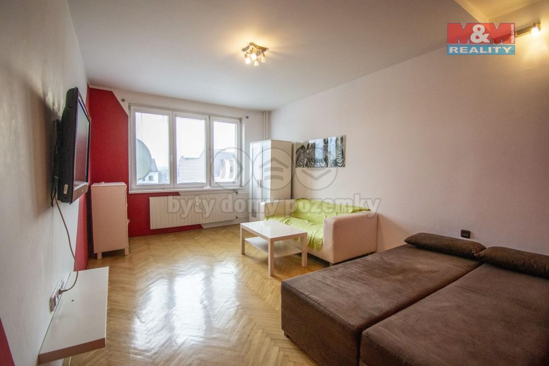 Pronájem, byt 1+1, Ostrava, ul. Zeyerova