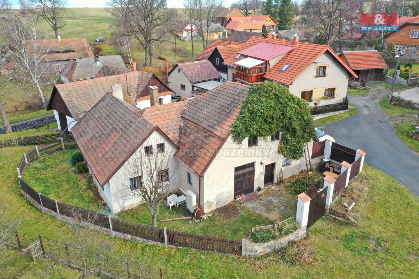 Prodej, chalupa 3+kk, 403 m2, Česká Rybná - Proseč