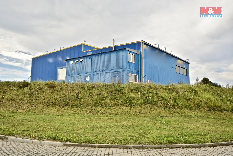 Pronájem, výrobní objekt, 4834 m², Bernartice, ul. Táborská