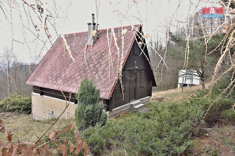 Prodej, chata 39 m2, pozemek 1539 m2, Záskalí - Žďárek