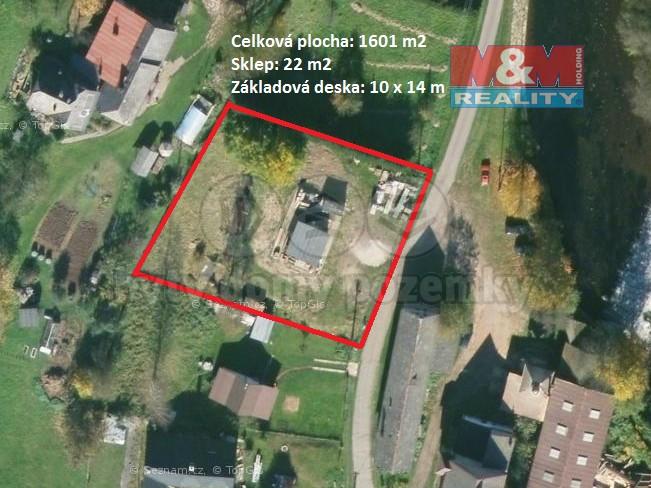 Prodej, pozemek k bydlení, 1601 m², Suchovršice
