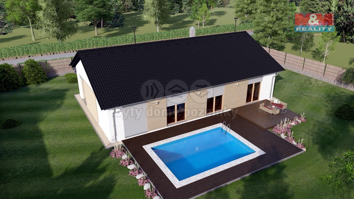 Prodej, rodinný dům, Drahanovice, novostavba, velký pozemek