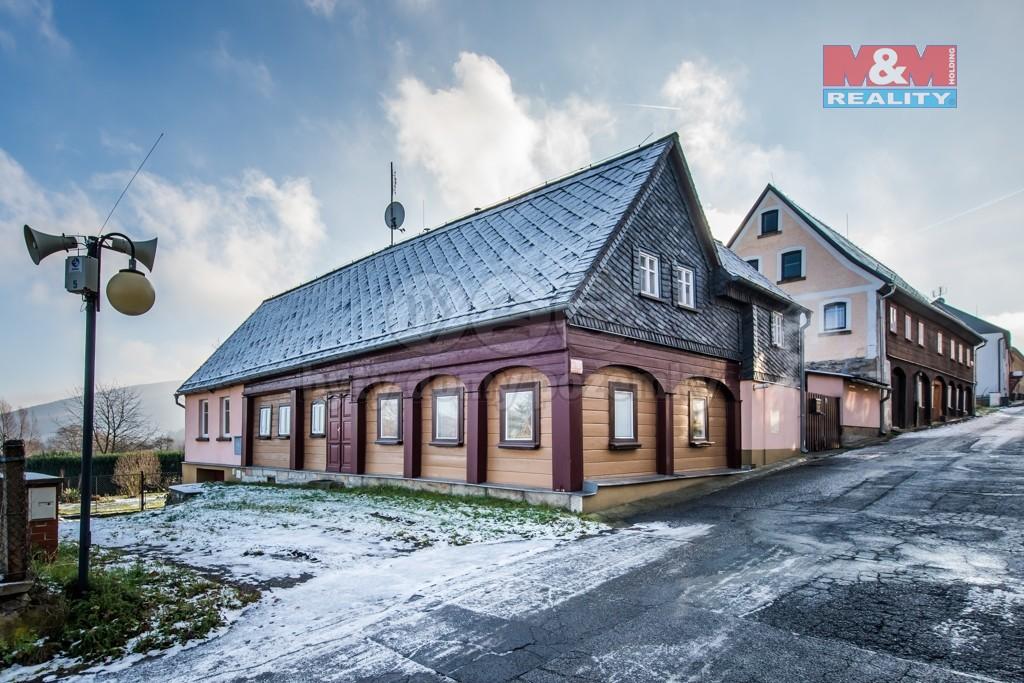 Prodej, chalupa, 4+1, 702 m², Jiřetín pod Jedlovou
