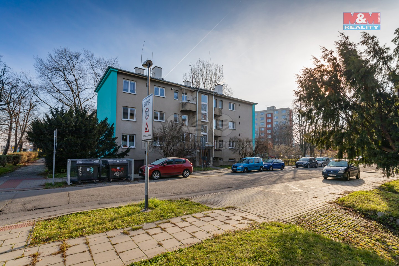 Prodej, byt 3+1, 90 m2, Olomouc, ul. Finská, balkon