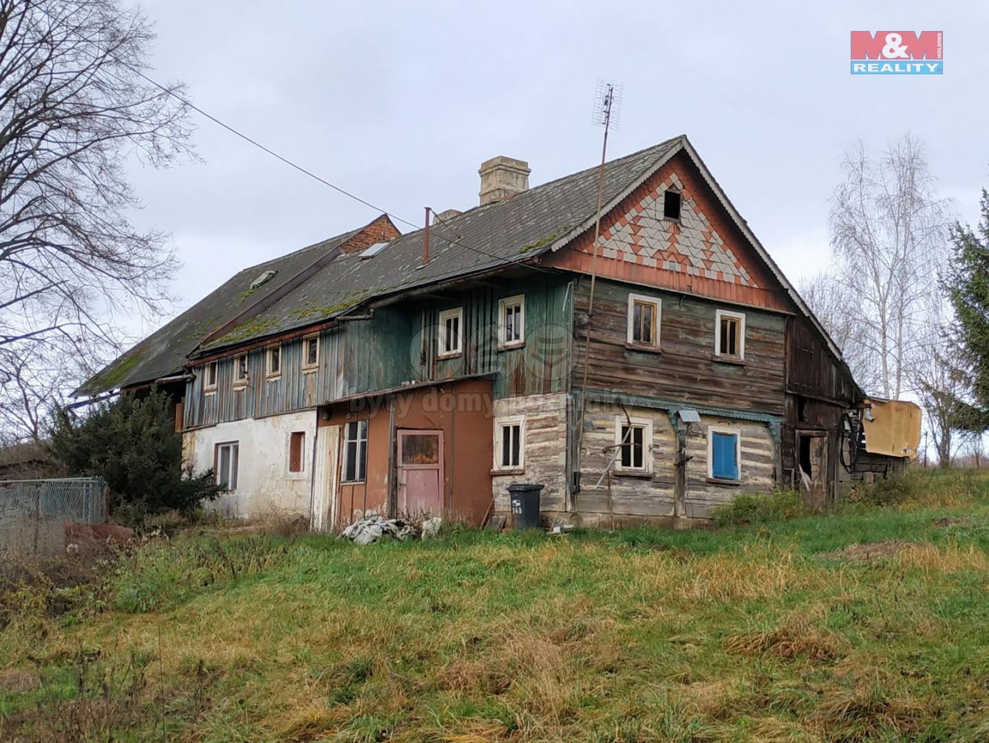 Prodej, chalupa, 5+1, 1273 m², Zákupy, Lasvice