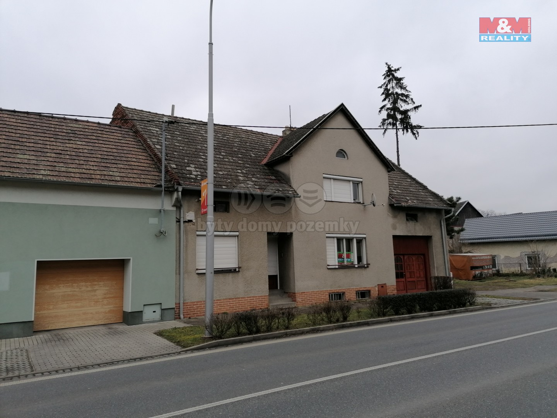 Prodej, rodinný dům 5+1, 1527 m², Tlumačov, ul. Masarykova