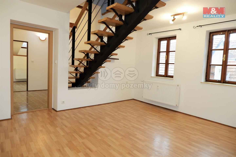 Pronájem, byt 3+1, 74 m², Český Krumlov, ul. Plešivecká