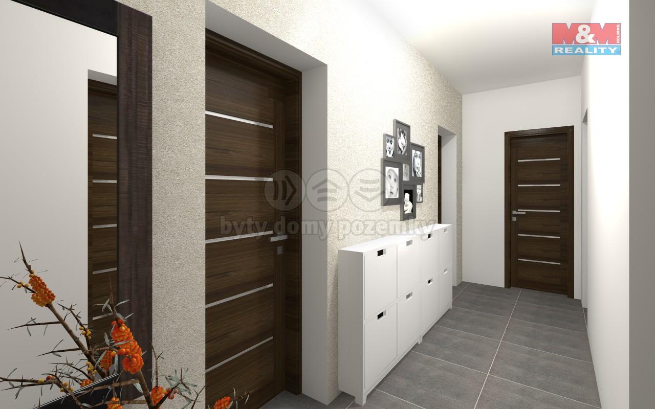 Prodej, byt 3+kk, 52 m2, Tlučná